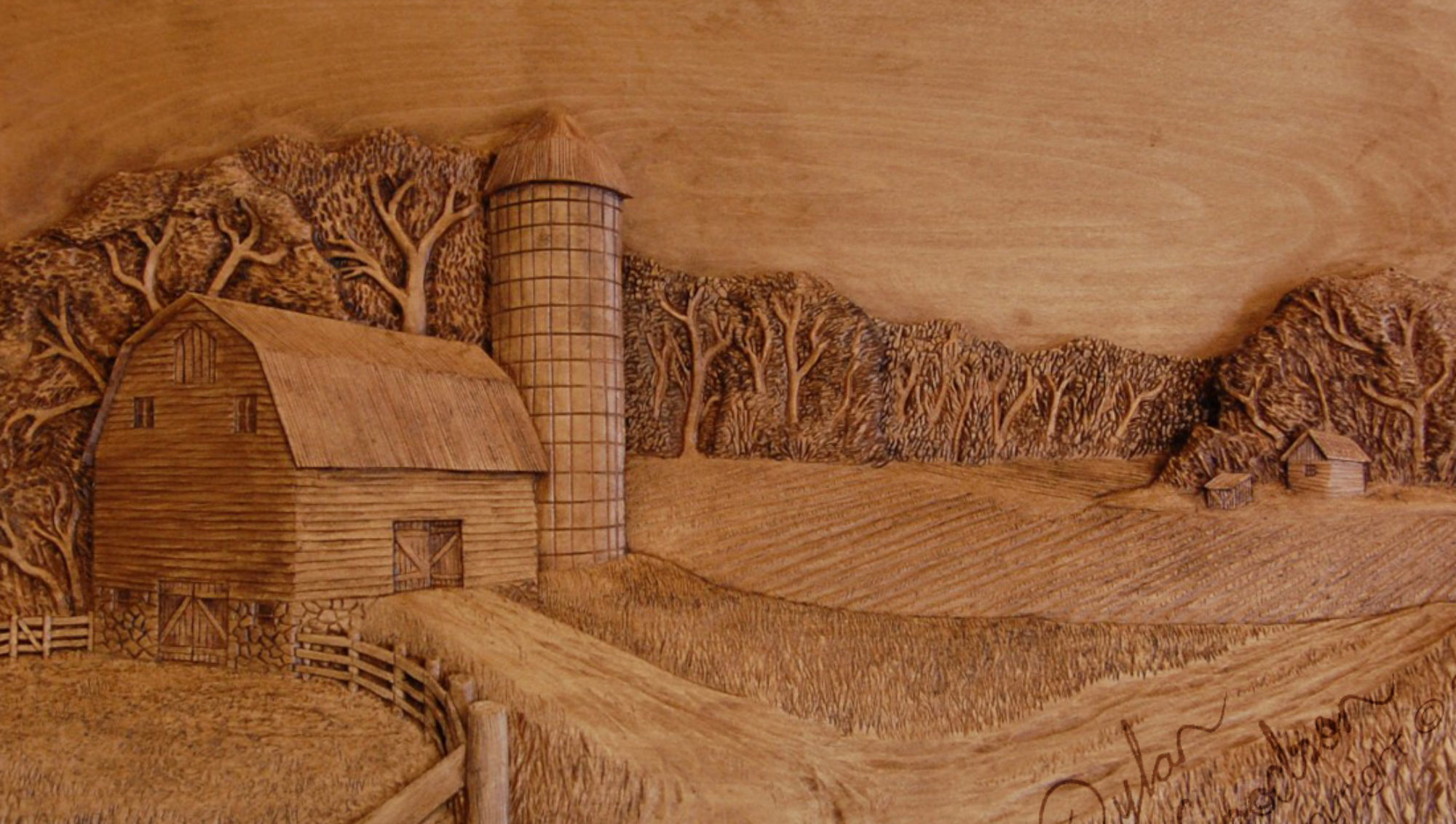 Wood Carvings by Dylan Goodson